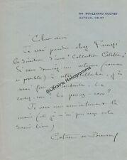 COLETTE (Sidonie-Gabrielle) romancière française (1873-1954)