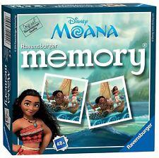 Ravensburger Disney Moana Mini Memory Childrens Pairs Matching Card Game