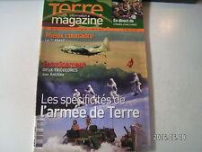 ** Terre Magazine n°184 Les spécificités de l'armée de terre / Le 7e RMAT
