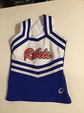 Real Cheerleading Uniform Youth Large Rebels uniform Top Only