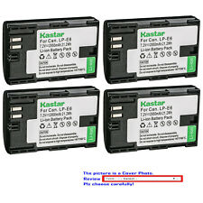 Kastar Battery Replacement for Canon LP-E6 LP-E6N LC-E6 & Canon EOS 6D Mark II