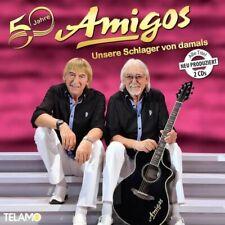 AMIGOS * 50 Jahre: Unsere Schlager von damals * 2 CD * NEU * OVP