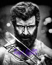 Hugh Jackman Logan X-Men SIGNED AUTOGRAPHED 10X8 REPRO PHOTO PRINT