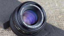 Minolta MD 50mm 75mm 1.7 lens FIT Fuji Fujifilm XF X PRO1 A1 M1 E2 E1 camera