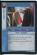 Lord Of The Rings Foil CCG Card RotK 7.U19 Careful Study