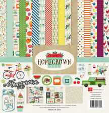 Echo Park - Homegrown 12x12 Scrapbook Kit Papers + Stickers Family Kitchen Home