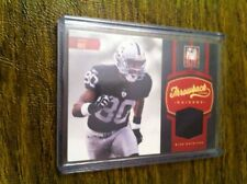 """JERRY RICE 2012 ELITE """"THROWBACK THREADS"""" GU JERSEY PATCH /45!! LOW #ED!! GOAT!!"""