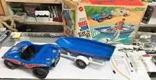 Vintage Mattel BIG JIM Boat N Buggy Set 1973 in Box