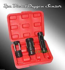3pc Diesel Oxygen Sensor Injector Socket Vaccum Switch  Set 22mm 28mm w/ 1/2