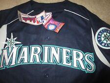 Seattle Mariners 2001 Majestic MLB Premier Jersey LG L NEW nwt