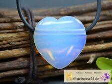 Markenlose Echtschmuck-Halsketten & -Anhänger mit Herz-Opal
