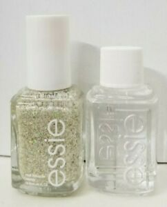 Essie Nail Polish PEAK OF CHIC UNBOX & Essie quick-e drying Drops NO DROPPER