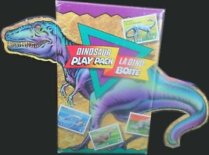 Canada 1993 Canada Dinosaur Stamp Childrens Play Pack activity set