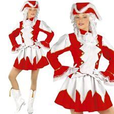 FUNKENMARIECHEN - rot/weiß- Gr. L 42/44 Damen Kostüm Tanzmariechen Garde Uniform