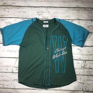 Vintage 80s 90s Chicago White Sox Athletic Logo Starter MLB Baseball Jersey RARE
