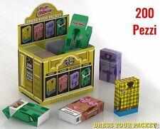 CopriPacchetto di Sigarette POP FILTERS in Cartoncino porta pacchetto 200 pz