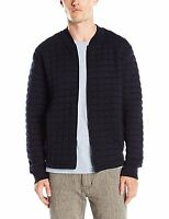 French Connection New Mens Zip Up Sweatshirt Cardigan Cotton Cardi Top Marine