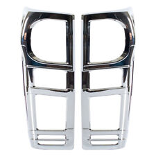 Chrome Cover Taillight Trims Fit Isuzu D-Max Pickup 2012