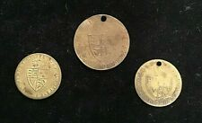 1797 GEORGE III,  IN MEMORY OF THE GOOD  OLD DAYS TOKENS X 3