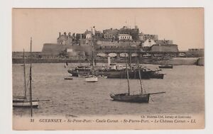 Guernsey postcard - St Peter's Port, Castle Cornet - LL No. 31 (A85)