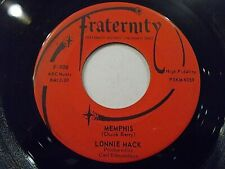 Lonnie Mack Memphis / Down In The Dumps 45 1963 Fraternity Vinyl Record