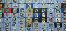 *AUTHENTIC* Nintendo 64 N64 Games Zelda Super Mario Kart Banjo 007 TESTED - PICK