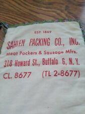 Vintage Sahlen Buffalo N.Y. Advertising Oven Mitt