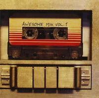 GUARDIANS OF THE GALAXY AWESOME MIX VOL.1 CD ALBUM FILM SOUNDTRACK (2014)