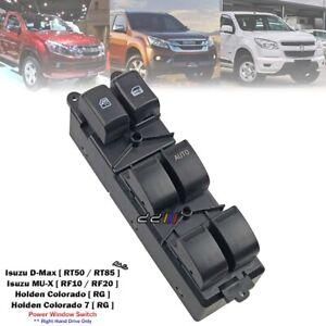 RHD Front Power Window Switch Main Control For Isuzu D-Max Dmax Pickup 2012-2020