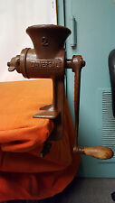 No. 2 Universal Meat Grinder - Painted Chocolate Brown - Turns