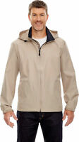 North End Men's Polyester Cuff Full Zipper Long Sleeve Hooded Jacket. 88083