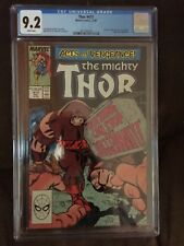 Mighty Thor #411  CGC 9.2 White Pages 1st New Warriors