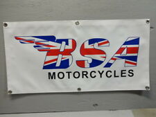 BSA Motorcycle Banner Sign EC0269 PARTS & ACCESSORIES