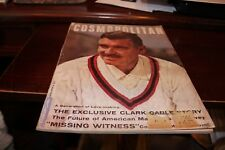 COSMOPOLITAN MAGAZINE JUNE 1954 VOL 138 #6 THE EXCLUSIVE CLARK GABLE STORY