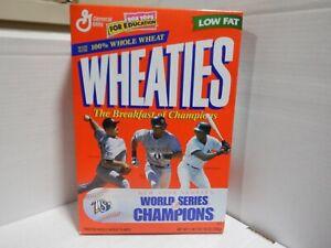 Wheaties NY Yankees World Series Champions MINT BOX (No Cereal) 012121MGL2