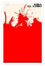 "Movie Poster 4 Japanese film""KIBA Wolf""Japan.Japanese Martial art.Hideo Gosha"