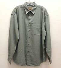 Mens Horny Toad Plaid Button Shirt