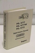 Ikegami HL-V77 V77W V73 Digital Camera Recorder Instruction Manual