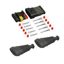 Amp Superseal maschio set 5 pin 1,50-2,50 con becchi CAMION AUTO BARCA sensore