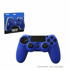 PS4 - Case - Controller Silicone Grip - Blue (KMD)