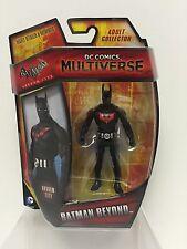 "DC COMICS MULTIVERSE BATMAN: ARKHAM Batman Beyond 4"" FIGURE MOC"