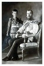 mm891 - Russian Czar & Czarewitch Alexis - photograph 6x4