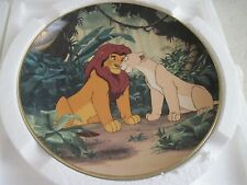 Walt Disney The Lion King COURTING THE FUTURE KING Collector Plate 6th