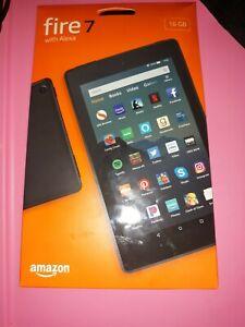 Amazon Fire 7 (9th Generation) 16GB, Wi-Fi, 7in - Black new