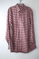 Gitman Bros for Bruce Baird & Co mens long sleeve button down shirt size L