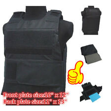 Wargame/AirSoft Paintball BB Bulletproof Armour Plate Stab Proof Vest Y8