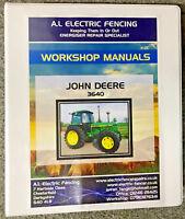 John Deere 3640 Repair Service Workshop Manual,FULLY PRINTED HARDBACK MANUAL