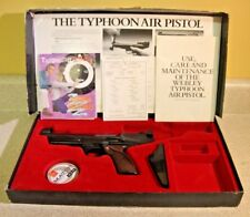 Vintage Webley Scott Typhoon Pellet Pistol .177 used w/ box & paperwork  England