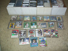 BASEBALL 25 SERIAL NUMBERED CARDS WITH GUARANTEED SR#'D AUTOGRAPH OR GAME-USED