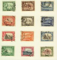 Aden 1939/48 KGVI range of pictorial issues to 5Rs cv£40+ (12v) FU Stamps
